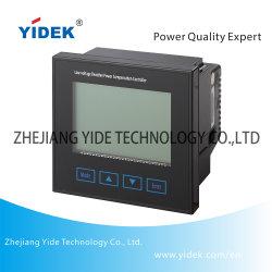 De Meter van de Controle van de Condensator van het Net van de Macht van Yidek met het Harmonische Meten van de Temperatuur