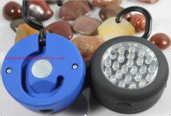 자석과 훅을%s 가진 24의 LEDs 작동되는 램프의 둘레에