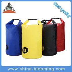 Sacchetto asciutto impermeabile del PVC di corsa dell'oceano della tela incatramata durevole esterna del pacchetto