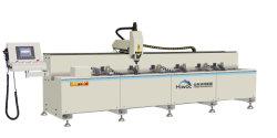 6 metro de comprimento do eixo 3 do Centro de maquinagem CNC Máquina para perfil de alumínio/centro de maquinagem CNC Máquina para perfil de alumínio de Porta e janela de alumínio