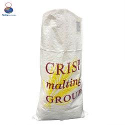 China 25kg 50kg bolsa de plástico tejida PP