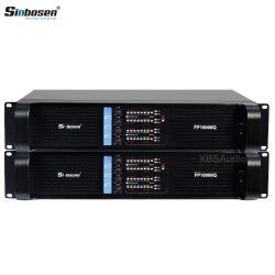 Guangzhou fabricant professionnel de haute qualité 4 canaux amplificateur de puissance PC10000q