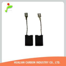 Qualitäts-Kohlebürste mit dem Verzinnen verwendet für Motorrad-Zubehör/Kohlebürste für Elektromotor