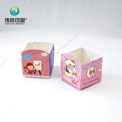 カラフルな DIY 漫画のおもちゃ箱のペーパー印刷の包装箱