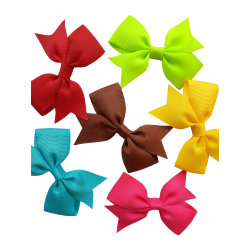 크리스마스 리본 보우(Bow) - 보우형(Ribbon Loop) - 포장 선물에 사용됩니다