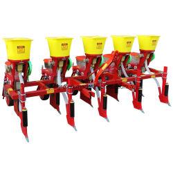 De tractor zette de Planter van het Zaad van de Sojaboon van het Graan van de Precisie van 4 Rijen op