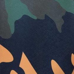De camouflage Afgedrukte Stof van het Leer van Faux van het Leer voor het Meubilair van de Bank (805#)
