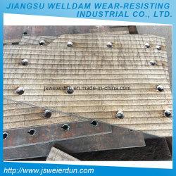 Dureza HRC 58-62 carboneto de crómio placas de desgaste de aço resistente para placa deslizante em Metalurgia