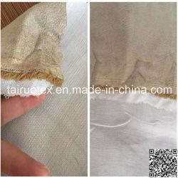 Camurça em microfibra com malha de compostos de tecido de forro de calçados