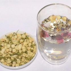 Thé au jasmin de soins de santé tisane de fleurs séchées