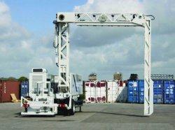 Máquina de rayos X contenedores y vehículos Sistema de Inspección de rayos X - Móvil Th4000 El Escáner de Contenedores