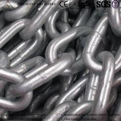 Catena di flagellazione Chain G80 della catena a maglia del cuscino ammortizzatore lungo del bacino