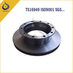Аттестованные ISO/Ts16949 пусковые площадки переднего тормоза автозапчастей машины CNC