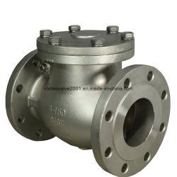 Dn50-DN1500 Clase600 Válvula de retención Bridas de acero fundido