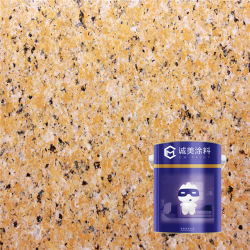 Non Toxit aucune pollution de la poudre de granit de peinture en aérosol revêtement mural peindre avec la peinture de bonne qualité