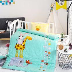 Cama de Bebé impresso de algodão e os lençóis e roupa de cama