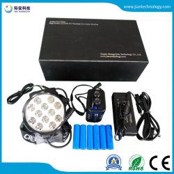 Nouveau produit! 12X6w les plus brillants haute puissance lampe torche à LED UV