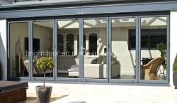 Il portello di piegatura della lega di alluminio Gates il prezzo/costo dei portelli Bifold