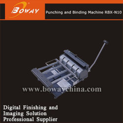 Boway 광고 사무실 Rbx-N10 참고 도서 트윈 링 이중 와이어 홀 펀칭 및 바인딩 기계