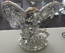 Silver Eagles Accueil ornements Proresin Statues pour la promotion de l'artisanat
