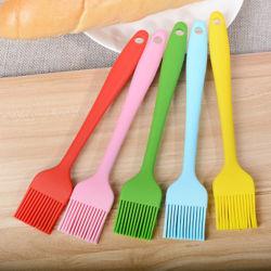 Ustensiles de cuisine spatule en silicone de qualité alimentaire et de Silicone Brosse de cuisson au barbecue