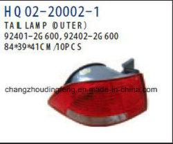 Les pièces automobiles pour feu arrière Kia Optima 2009. OEM :600/92402 92401-2G-2G600