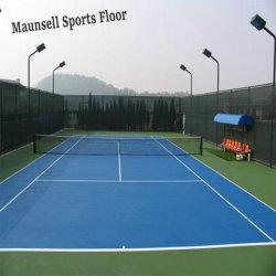 Interior / Exterior de PVC de tenis el deporte profesional de vinilo suelos