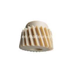 Le Nylon POM pignon conique en plastique de haute précision pour l'appareil automatique / Machines pignon du moteur