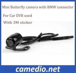 18.5mm Camera van de Auto DVR van de Veiligheid van de Vlinder van de Lijnen van de Hoge Resolutie 480TV de Mini met de Schakelaar van BMW