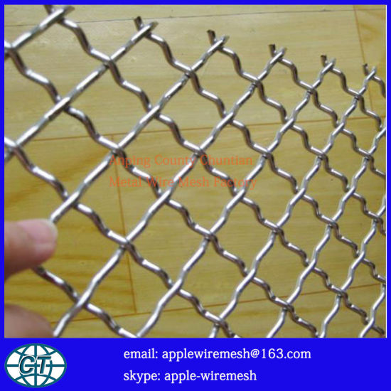 China Pre-Crimp & Heavy Duty Wire Mesh - China Stainless Steel Wire ...