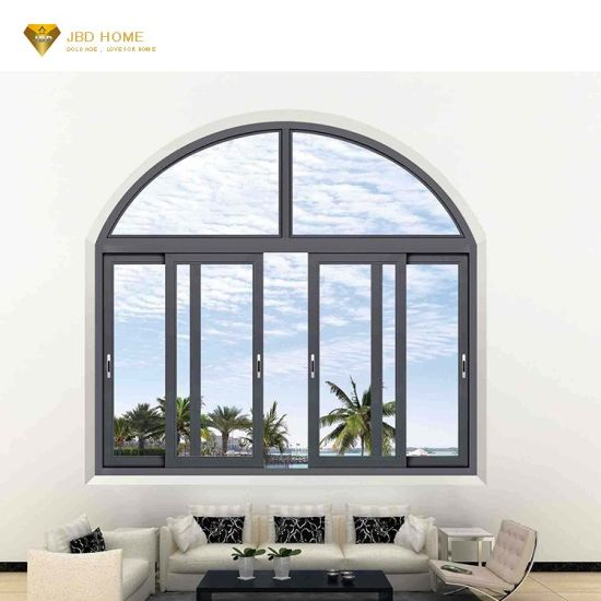 Endier Wide Aluminium Windows and Doors for House Australia System and House Main Double Window Design with Burglar Proof