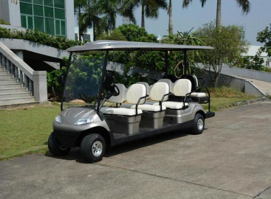 8 Seats Electric Passenger Cart with Rear Seats pictures & photos