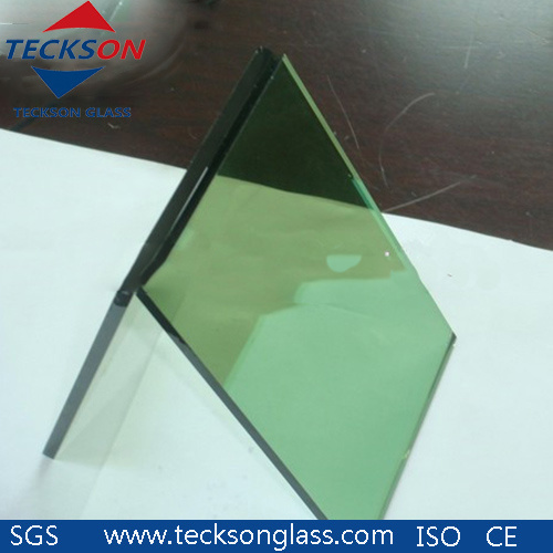 6mm Dark Green Tinted Windows Float Glass for Building pictures & photos