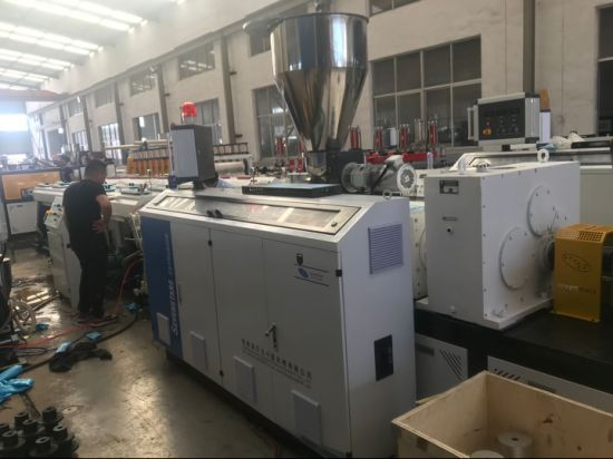 Plasstic Extruders for PVC Pipe Extrusion Line with Pipe Bending Machine