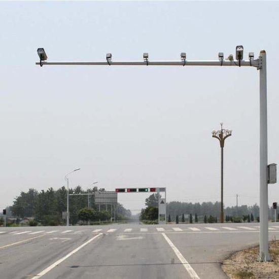 CCTV Poles for Camera Monitor with Telescoping Pole Attachments