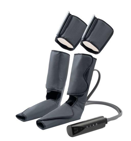 Foot Pressure Massager, Heating Muscle Leg Calf Electric Pulse Foot Massage Machine Blood Circulator