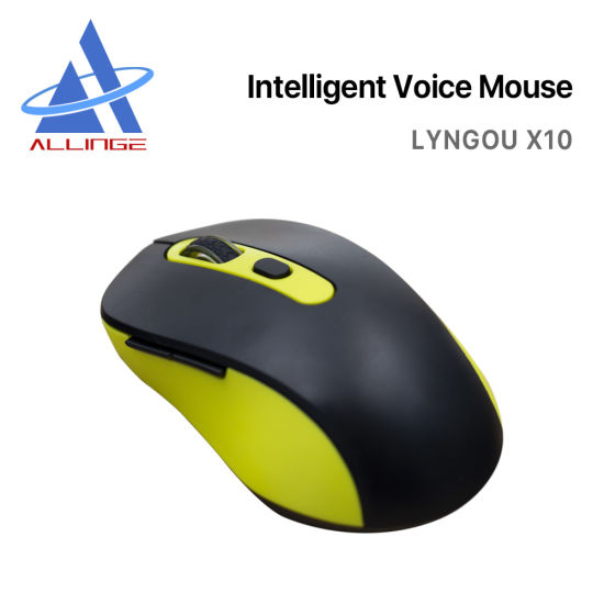 Lyngou LG062 X10 Wireless USB Smart Mouse Ai Voice Mouse with Multi-Languages Translation for Laptop