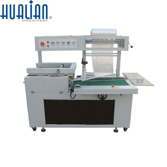 BSF-5640LG Hualian Auto Plastic Bag Single Layer Cold Cutting Hot Sealing Bag Making Machine
