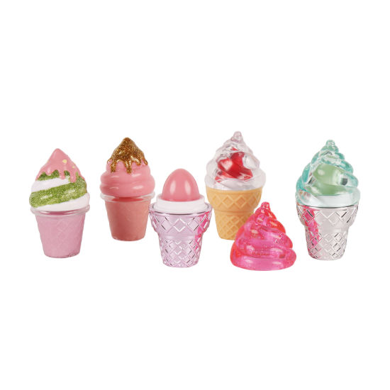 Private Label Ice Cream Shape Lip Balm Cosmetics with Packing pictures & photos