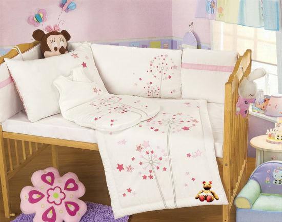 China Organic Cotton Baby Bedding Set