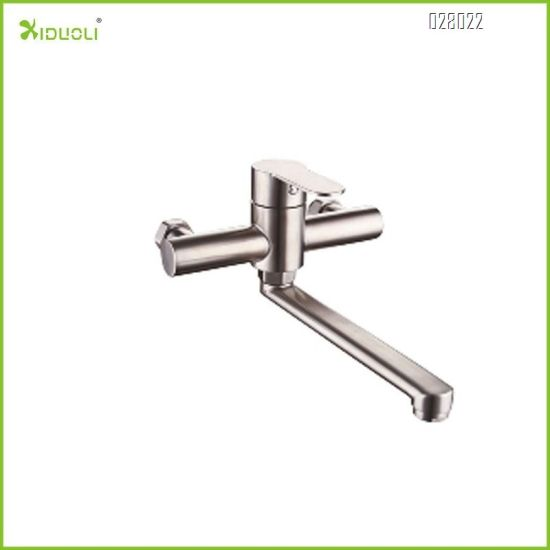China Stainless Steel Wall Mounted Kitchen Faucet Wall Kitchen Mixers Kitchen Sink Tap 360 Degree Swivel Kitchen Faucet China Sanitary Ware Mixer
