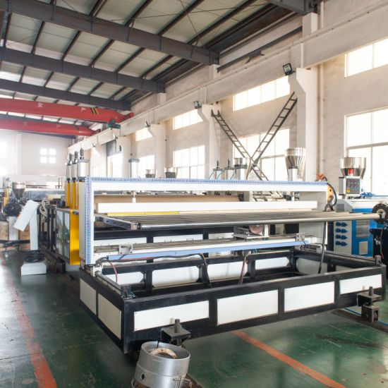 PVC Window Profile Production Line with Ce Certification