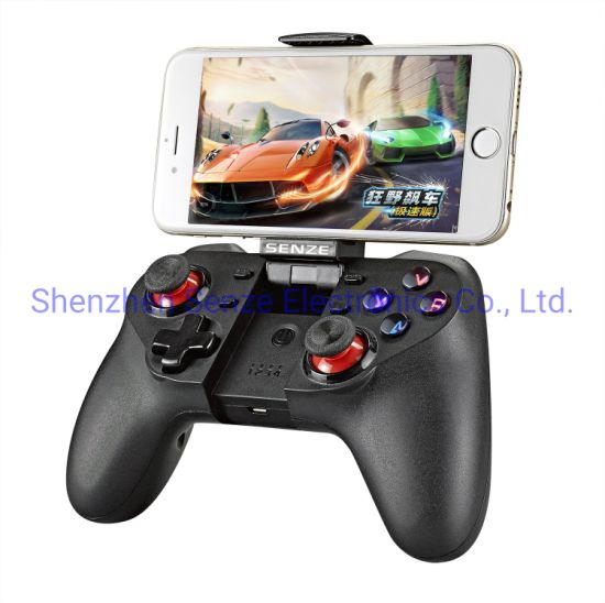 Senze Sz-A1019 Android Game Controller Smart Phone Wireless Bt Gamepad Ios Game Joystick TV Box for Phone