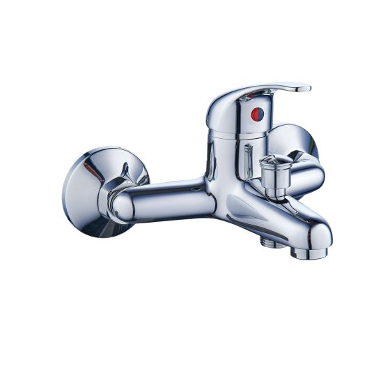 Brass Chrome Bath Mixer Faucet with Quality Assurance Alj201904