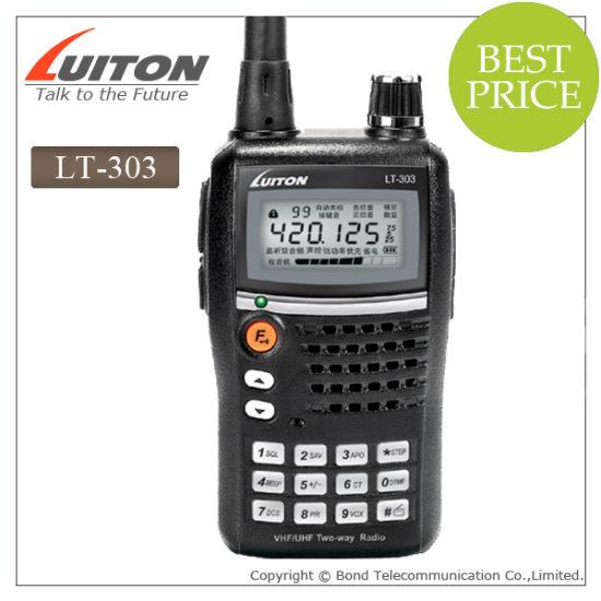 FCC Approved Lt-303 Uvf/VHF 5W Two Way Radio