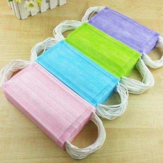 Kids/Children/Child/Kid Disposable Non Woven 3 Ply Face Mask Civil GB/T 38880-2020 Accredited