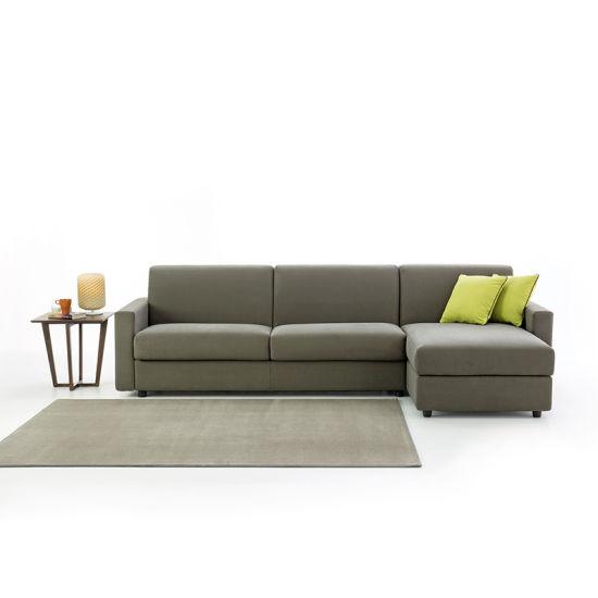 China Corner Folding Sofa Bed With Storage Leather Modern
