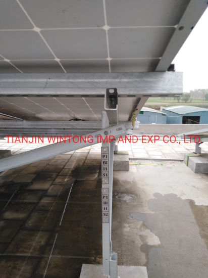 Adjustable Hot DIP Galvanized Solar Ground Mounting Brackets