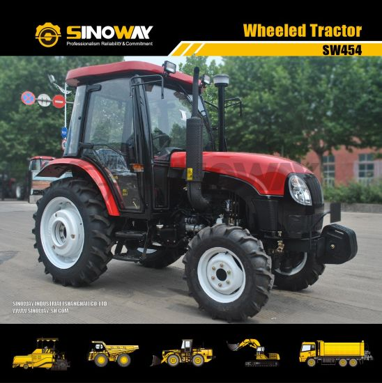 4WD Agricultural Wheel Farm Tractor Small Mini Compact Graden Tractors pictures & photos