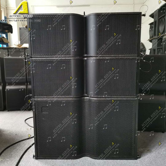 Kr210 Double 10 Inch Speaker with Double 15 Inch Subwoofer Active Line Array Speaker System